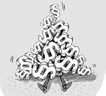 Karikatur Paragrafenberg-komprimiert für Website