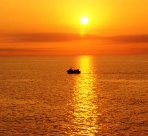 Macht sinnlich, so ein Sonnenuntergang