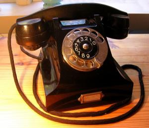 Telefon für den Familientreff