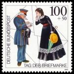 zum Briefe schreiben braucht man Briefmarken