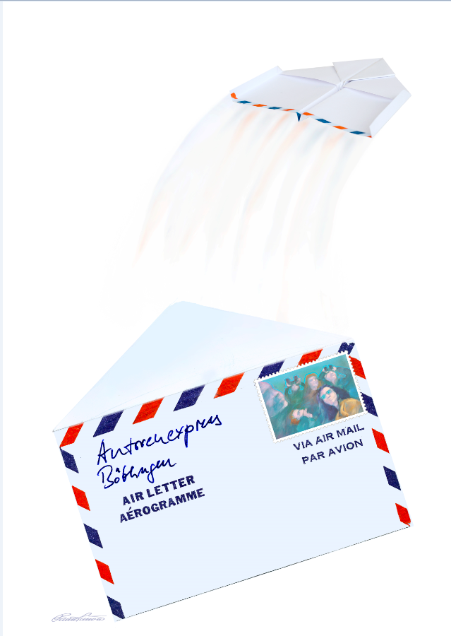 Luftpost Hurra Unser Neues Deckblatt Für Das Erste Halbjahr 2016