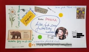 Foto von Postkarte