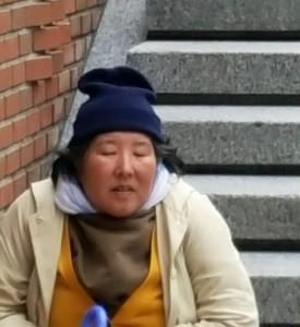 Gesichter in Korea