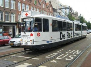 Straßenbahn in Amsterdam