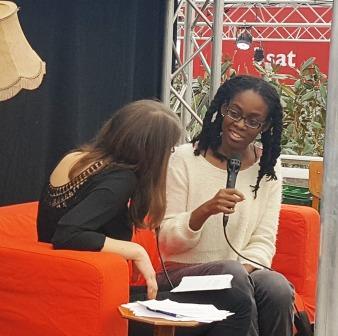 die junge Autorin Sharon Dodua Otoo im gespräch