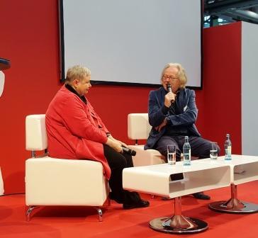 Nika Lubitsch, die Selfpublisher Bestsellerautorin und Rupert Frieling