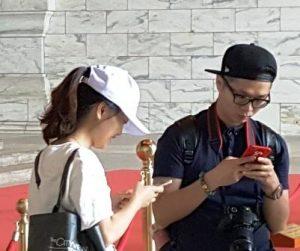gesichter aus Taiwan