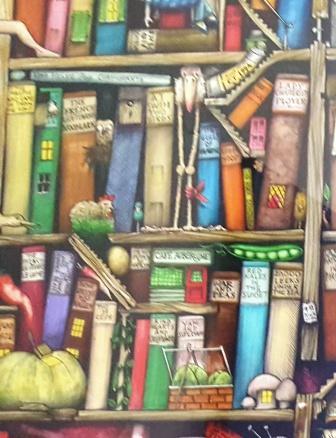 Bild von Bücherrücken zum Welttag des Buches