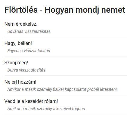 flirt ungarisch