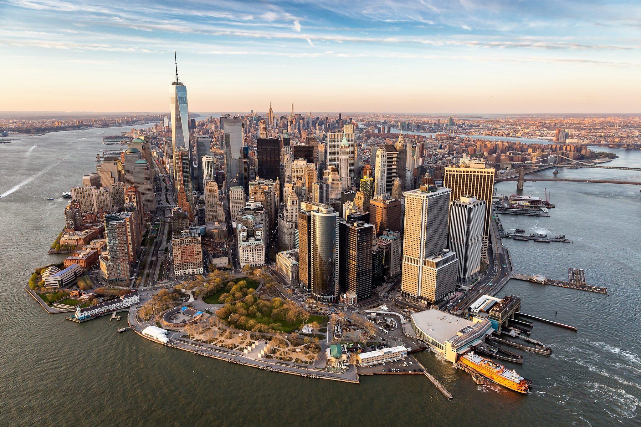 skyline von NYC