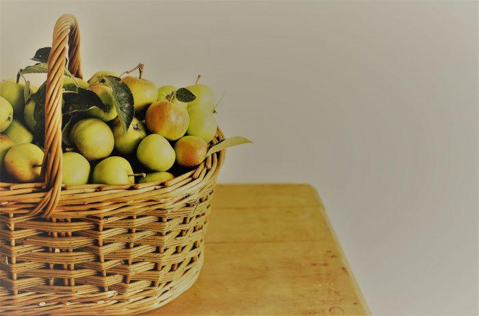 Geschenke zum Hochzeitstag könnten auch Evas Äpfel sein...