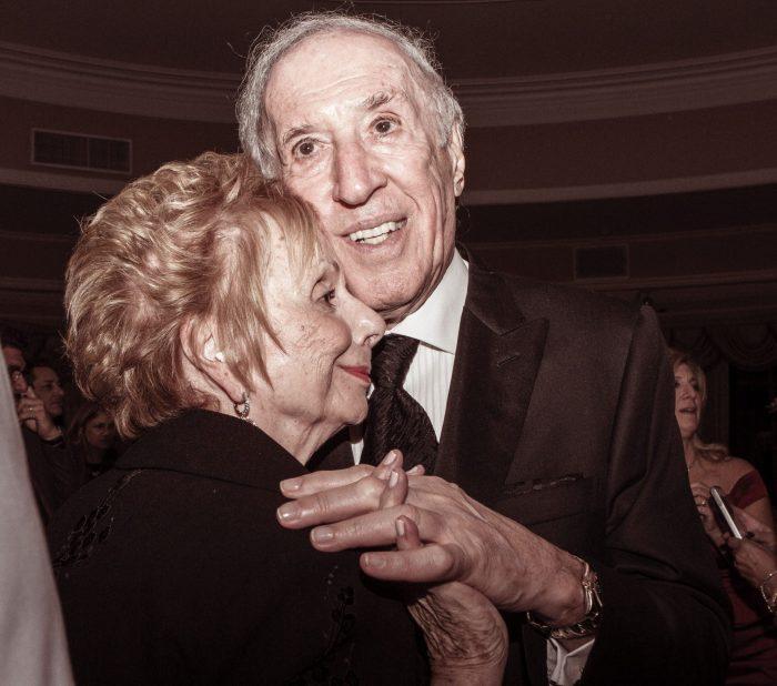 Opa und Oma am geburtstag