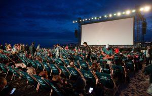 Outdoor-Kinos sind schön