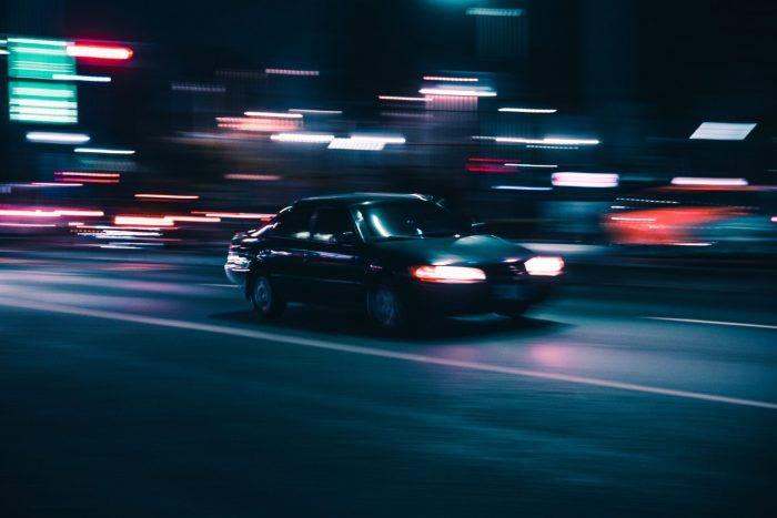 Auto rasend
