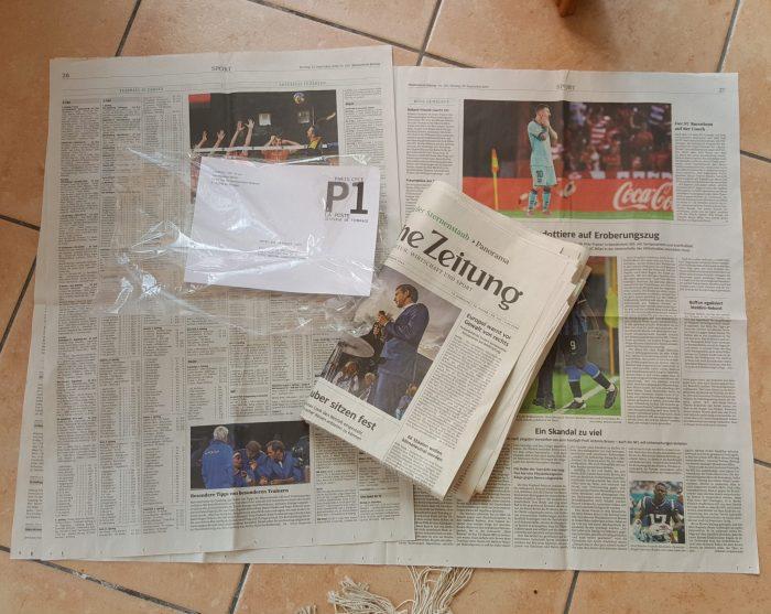 Fridays for future: nachgesendete Zeitung im Urlaub