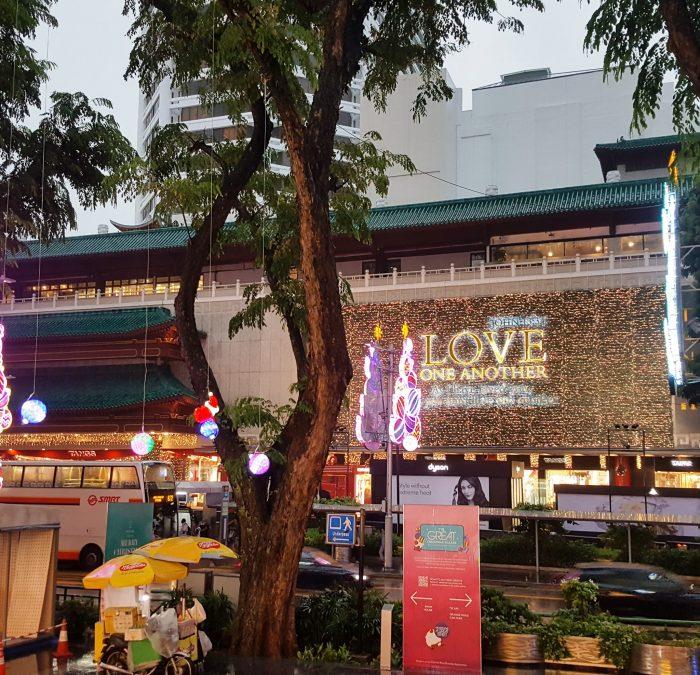 Kaufhaus mit lichterdeko