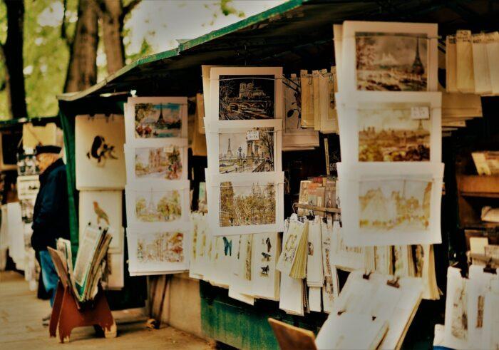 Unsere Zettelwirtschaft hilf Ihnen im geordnetem Chaos dieser Welt - ähnlich wie die Bouquinisten in Paris