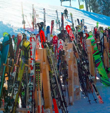 Freitags im Autorenexpress: Slottery beim Skifahren