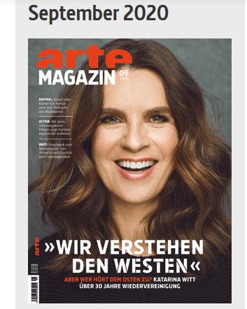 arte magazin vom september