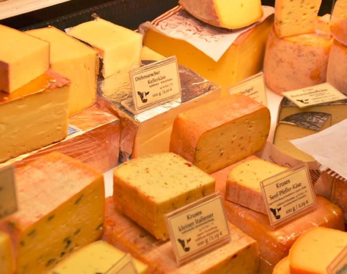 wahre preise: Käse