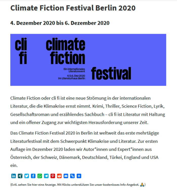 Klima und Literatur